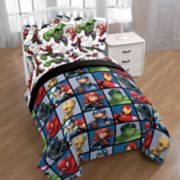 Marvel Avengers Team Bedding Set