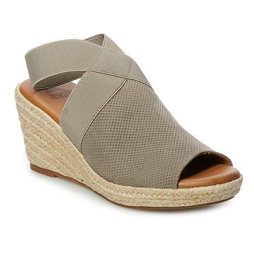 SONOMA Goods for Life™ Photo Women's Espadrille Wedge Sandals