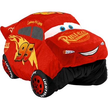 Disney / Pixar Cars 3 Lightning McQueen Stuffed Animal Plush Toy by Pillow Pets