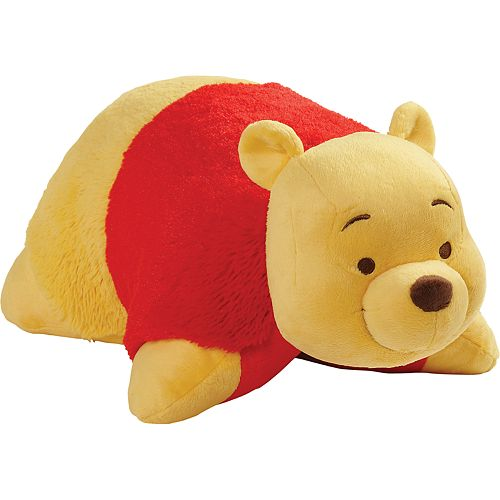 Disney's Winnie The Pooh Bear Stuffed Animal Plush Toy by Pillow Pets
