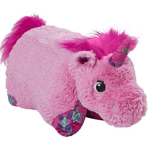 Pillow Pets Colorful Pink Unicorn Stuffed Animal Plush Toy