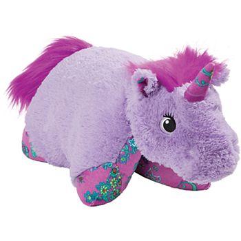 Pillow Pets Colorful Lavender Unicorn Stuffed Animal Plush Toy