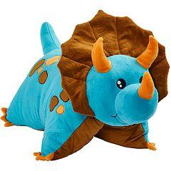 Pillow Pets Blue Dinosaur Stuffed Animal Plush Toy