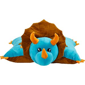 Pillow Pets Blue Dinosaur Stuffed Animal Plush Toy