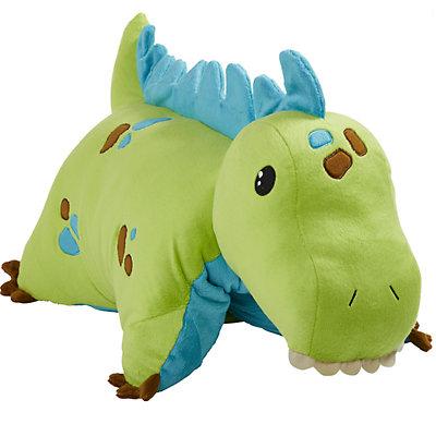 Pillow Pets Green Dinosaur Stuffed Animal Plush Toy