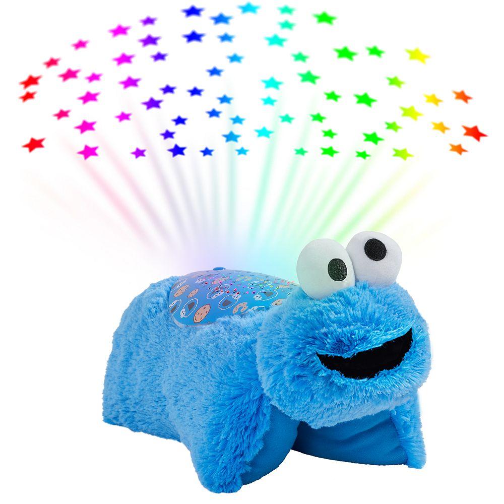 Pillow Pets Sesame Street Cookie Monster Plush Sleeptime Lite