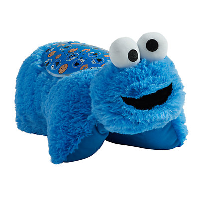 Pillow Pets Sesame Street Cookie Monster Plush Sleeptime Lite