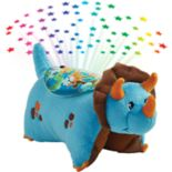 Pillow Pets Blue Dinosaur Plush Sleeptime Lite