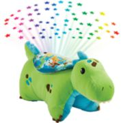 Pillow Pets Green Dinosaur Sleeptime Lite
