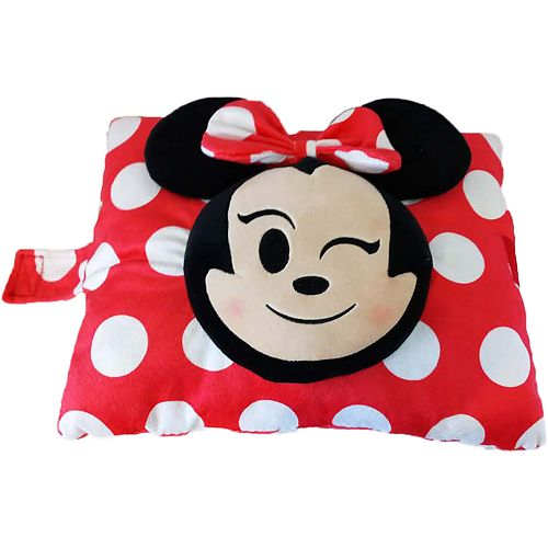 Disney's Minnie Mouse Emoji Stuffed Plush Toy by Pillow Pets