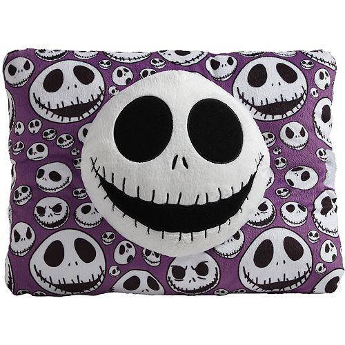 Disney's Nightmare Before Christmas Purple Jack Skellington Stuffed Plush Toy by Pillow Pets