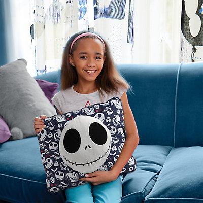 Disney's Nightmare Before Christmas Dark Blue Jack Skellington Stuffed Plush Toy by Pillow Pets