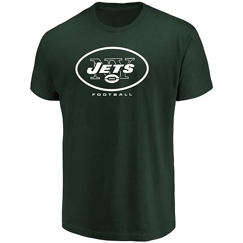 Big & Tall New York Jets Team Color Tee