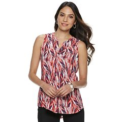 Women's Apt. 9® Pleated Back Sleeveless Top