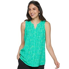 9328f15fc8847 Women s Apt. 9® Pleated Back Sleeveless Top