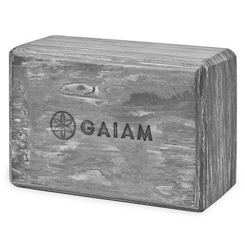 Gaiam Marbled Foam Yoga Block