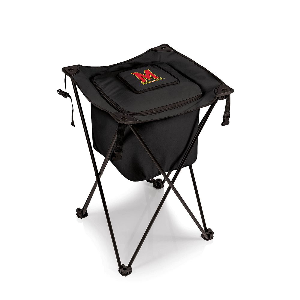 Picnic Time Maryland Terrapins Sidekick Portable Standing Cooler