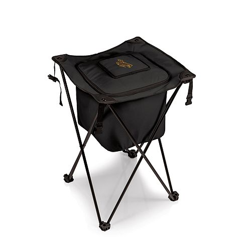 Picnic Time Wyoming Cowboys Sidekick Portable Standing Cooler