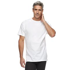 Men's Hanes 4-Pack + 1 Bonus Ultimate Stretch Crewneck Tees
