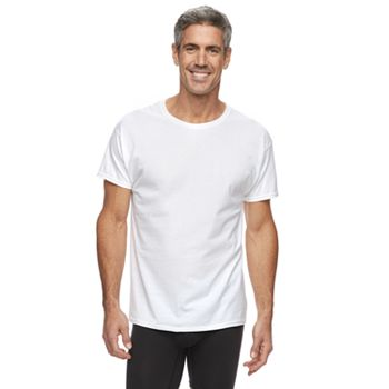 Men's Hanes 3-pack + 1 Bonus Ultimate X-Temp Crewneck Tees