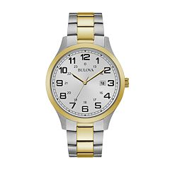 Bulova Men's Two Tone Stainless Steel Watch - 98B304