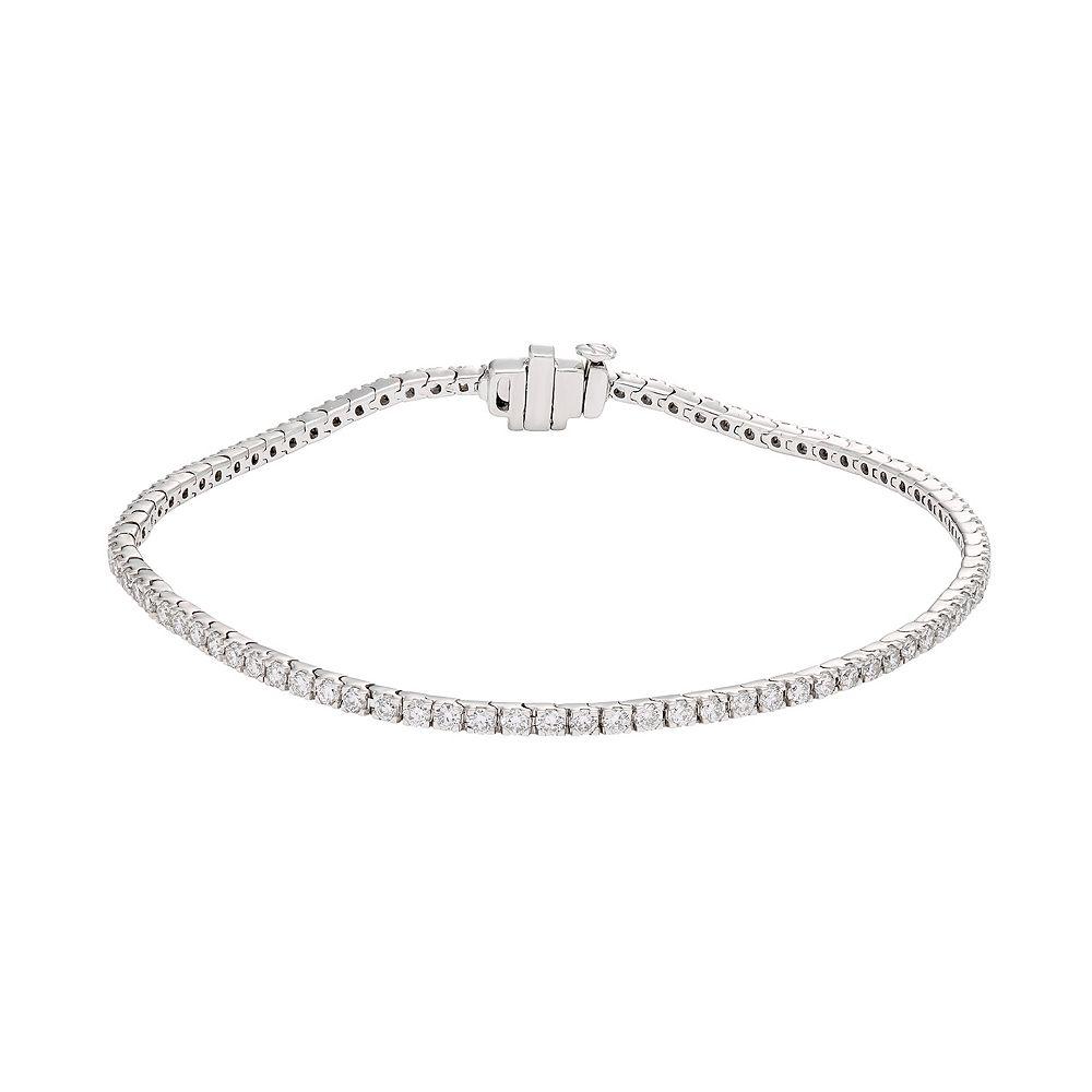Evergreen Diamonds 1 Carat IGL Certified Lab-Created Diamond Tennis Bracelet