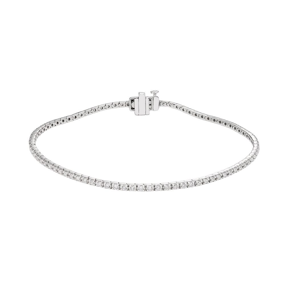 Evergreen Diamonds 2 Carat T.W. IGL Certified Lab-Created Diamond Tennis Bracelet