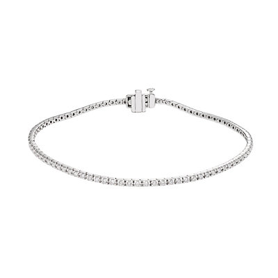 Evergreen Diamonds 2 Carat T.W. IGL Certified Lab-Created Diamond Tennis Bracelet