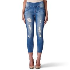 Women's Rock & Republic® Fever Pull-On Crop Skinny Jeans