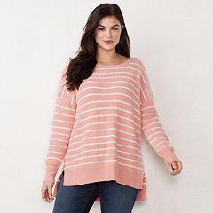 Plus Size LC Lauren Conrad Oversized Sweater