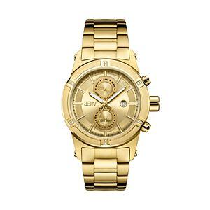 JBW Men's Strider Diamond Accent 18k Gold-Plated Watch - J6263E-E