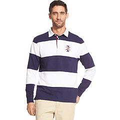 Men's IZOD Textured Rugby Polo