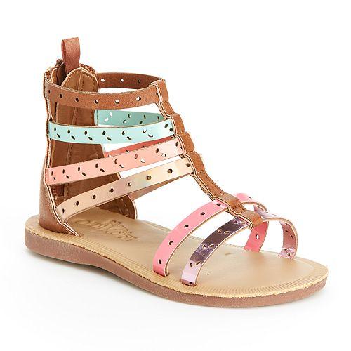 OshKosh B'gosh® Mila Toddler Girls' Gladiator Sandals