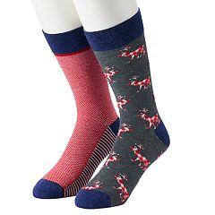 Men's Apt. 9® 2-pack Novelty Socks