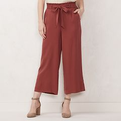 914f863e01b7f4 Women s LC Lauren Conrad Wide-Leg Trouser Pants