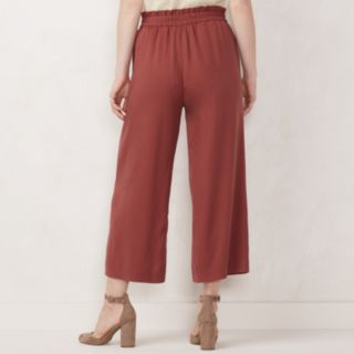 Women's LC Lauren Conrad Wide-Leg Trouser Pants