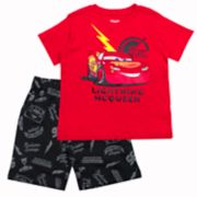 Disney / Pixar Cars Toddler Boy Lightning McQueen Graphic Tee & Shorts Set