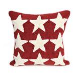 Liora Manne Frontporch Stars Indoor Outdoor Throw Pillow