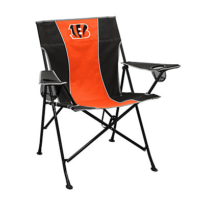 Logo Brands Cincinnati Bengals Game Time Portable Folding Chair