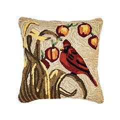 Liora Manne Frontporch Bird Indoor Outdoor Throw Pillow