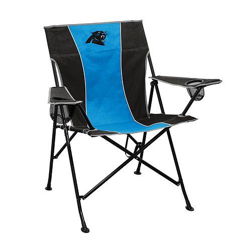 Logo Brands Carolina Panthers Game Time Portable Folding Chair