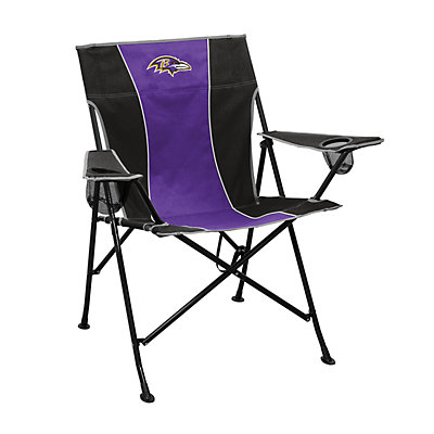 Logo Brands Baltimore Ravens Game Time Portable Folding Chair