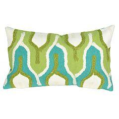 Liora Manne Visions III Crochet Tower Indoor Outdoor Throw Pillow