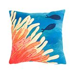 Liora Manne Visions III Reef & Fish Indoor Outdoor Throw Pillow