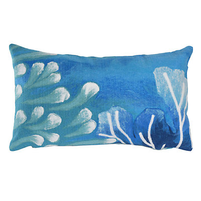 Liora Manne Visions III Reef Indoor Outdoor Throw Pillow