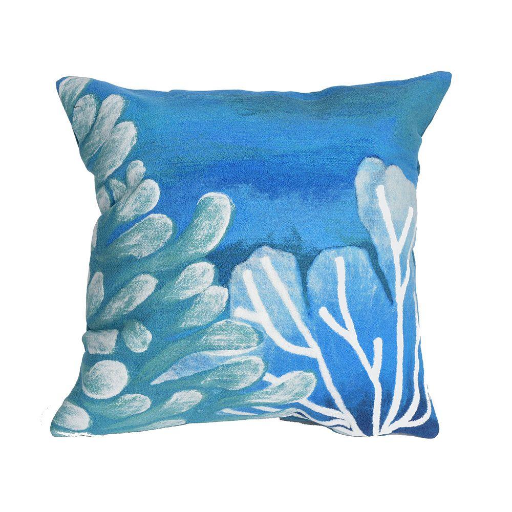 Liora Manne Visions III Reef Indoor Outdoor Throw Pillow
