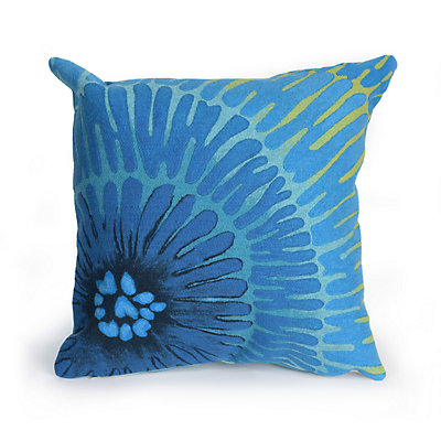 Liora Manne Visions III Cirque Indoor Outdoor Throw Pillow