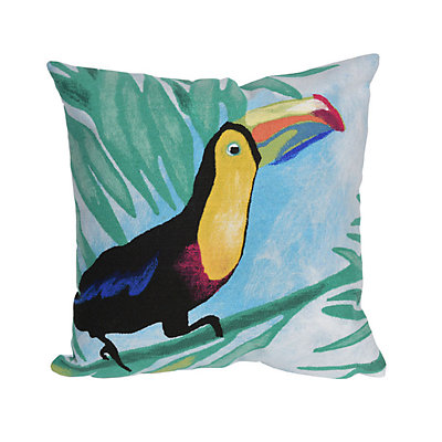 Liora Manne Visions III Toucan Indoor Outdoor Throw Pillow
