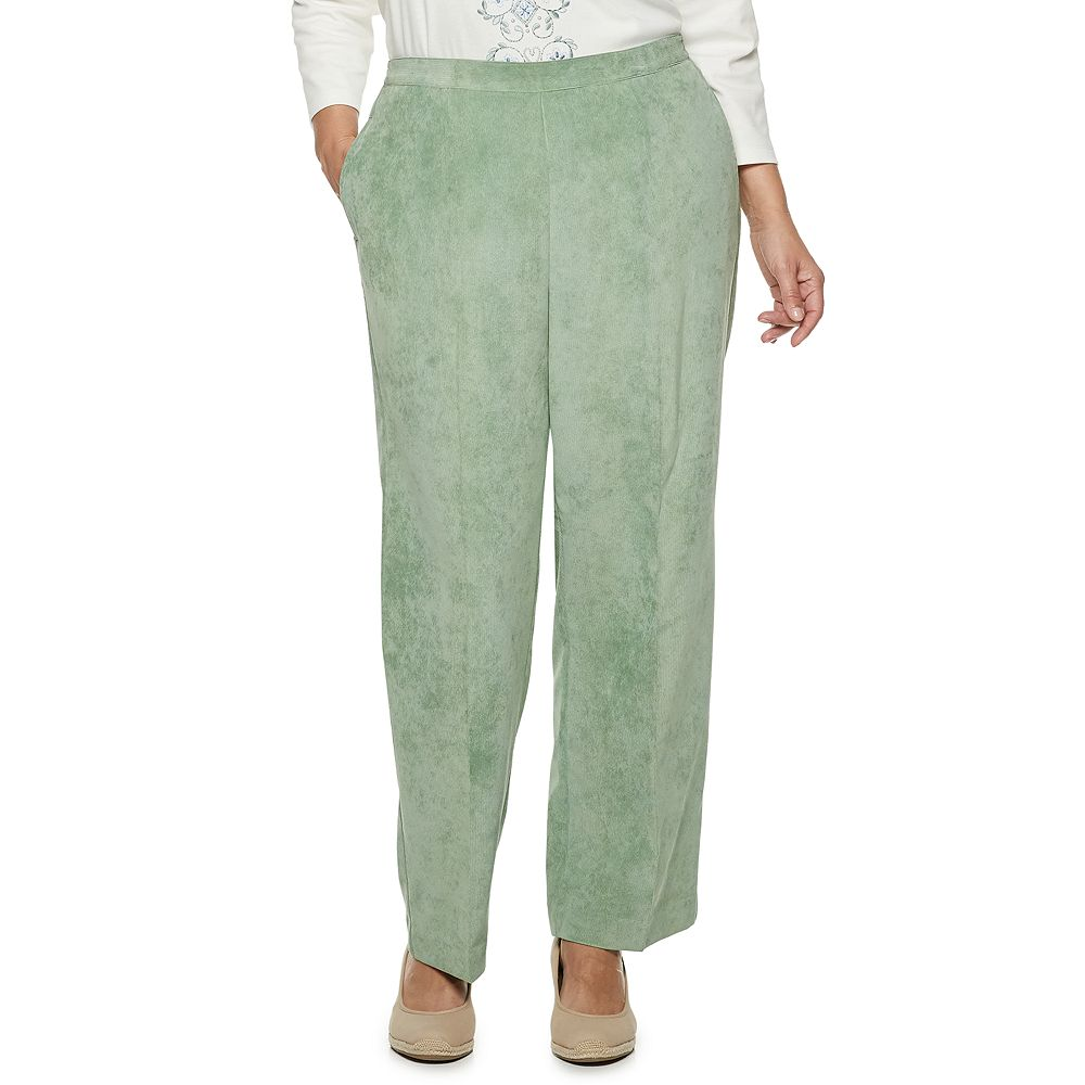 Plus Size Alfred Dunner Studio Pull-On Corduroy Pants