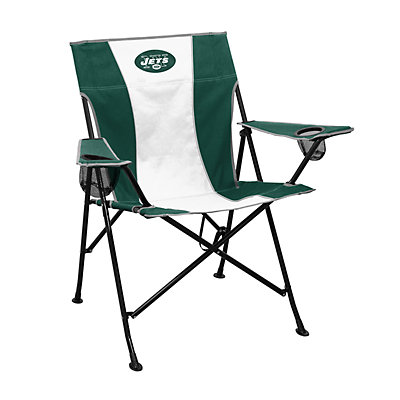 Logo Brands New York Jets Game Time Portable Folding Chair